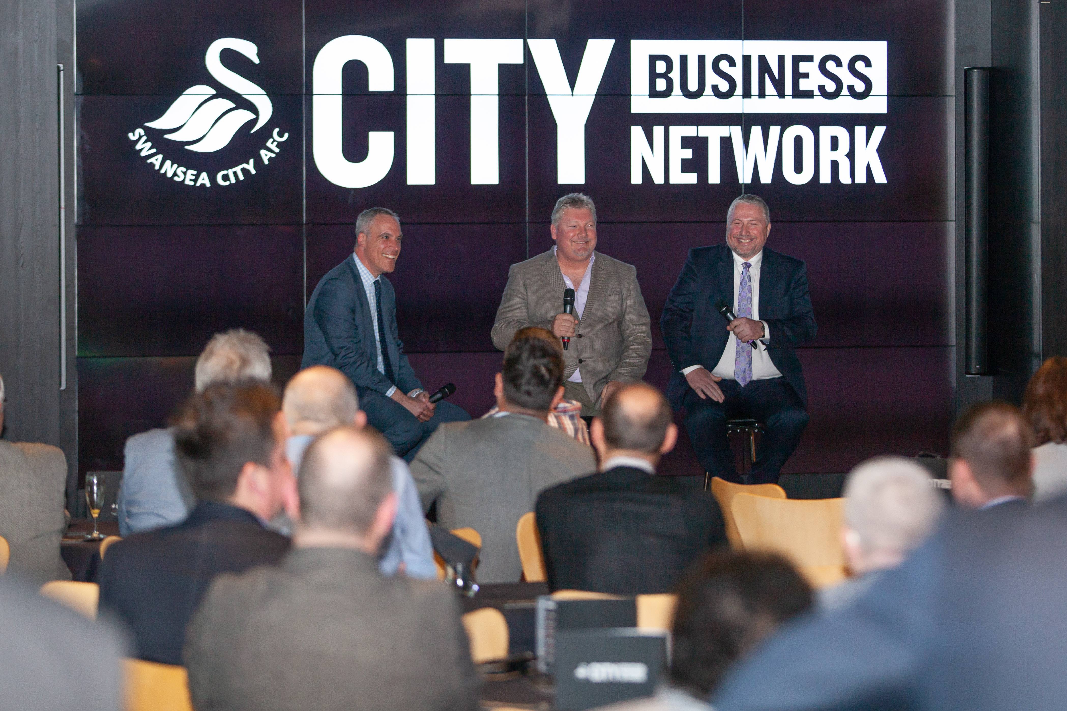 e9710d1ebde220 Leading regional law firm Peter Lynn and Partners have helped Swansea City  FC launch their new networking group – City Business Network (CBN).