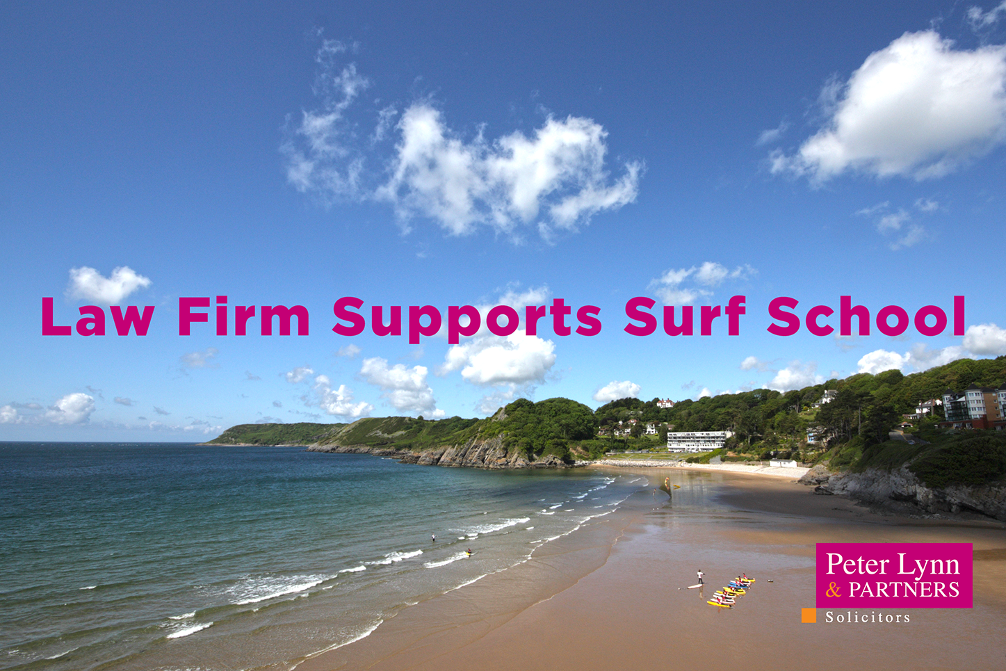 Law Firm Supports Surf School